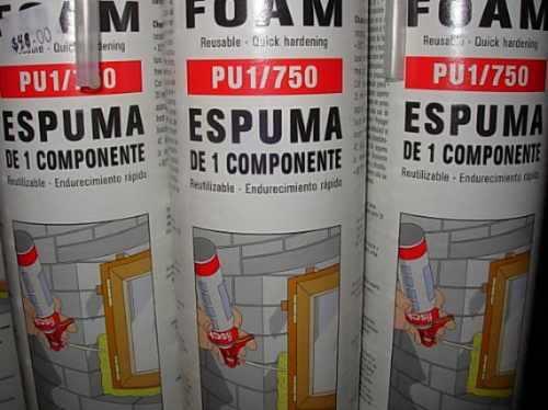Servicios destrucci m de aerosoles con poliuretano ler - Precio de espuma de poliuretano ...